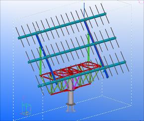 Prodespa Industrial Arteko Metal Estructura Fija Para