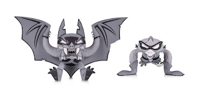 DC Comics Artists Alley Joe Ledbetter Black & White Variant Vinyl Figures by DC Collectibles