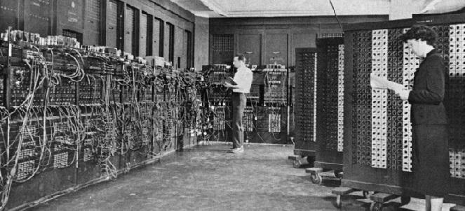 hayatta ilk defa ENIAC