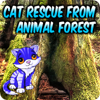 Cat Rescue From Animal Forest Walkthrough