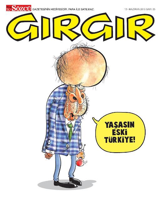 gırgır dergisi 13 haziran 2015 kapak