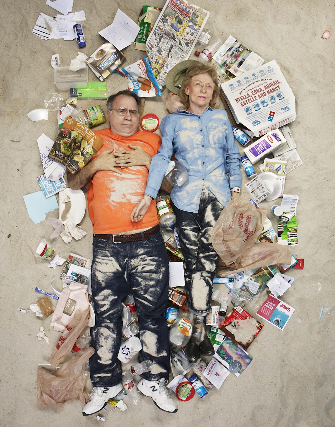 ©Gregg Segal - 7 Days of Garbage. Fotografía | Photography