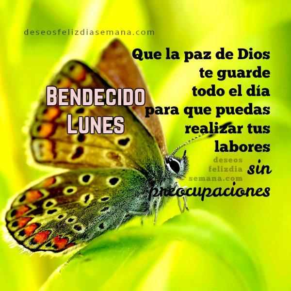 saludos de buen día lunes, feliz día inicio de semana, mensajes, frases del lunes para amigos y familia con imágenes cristianas y buenos deseos.