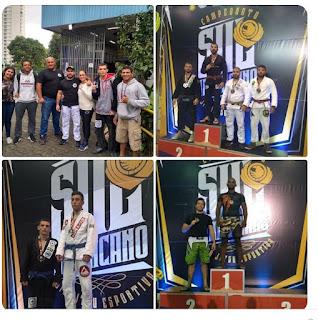 Academia Chuteboxe Registro trás varias medalhas do Campeonato Sul-Americano de Jiu Jitsu em São Paulo