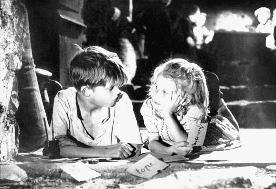 Michel e Paulette - Jeux interdits 1952