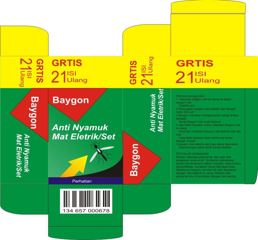 Desain Kemasancoreldraw: Membuat Kotak Atau Packaging Obat Nyamuk Di CorelDRAW