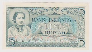 5 Rupiah Kartini (seri kebudayaan 1952)