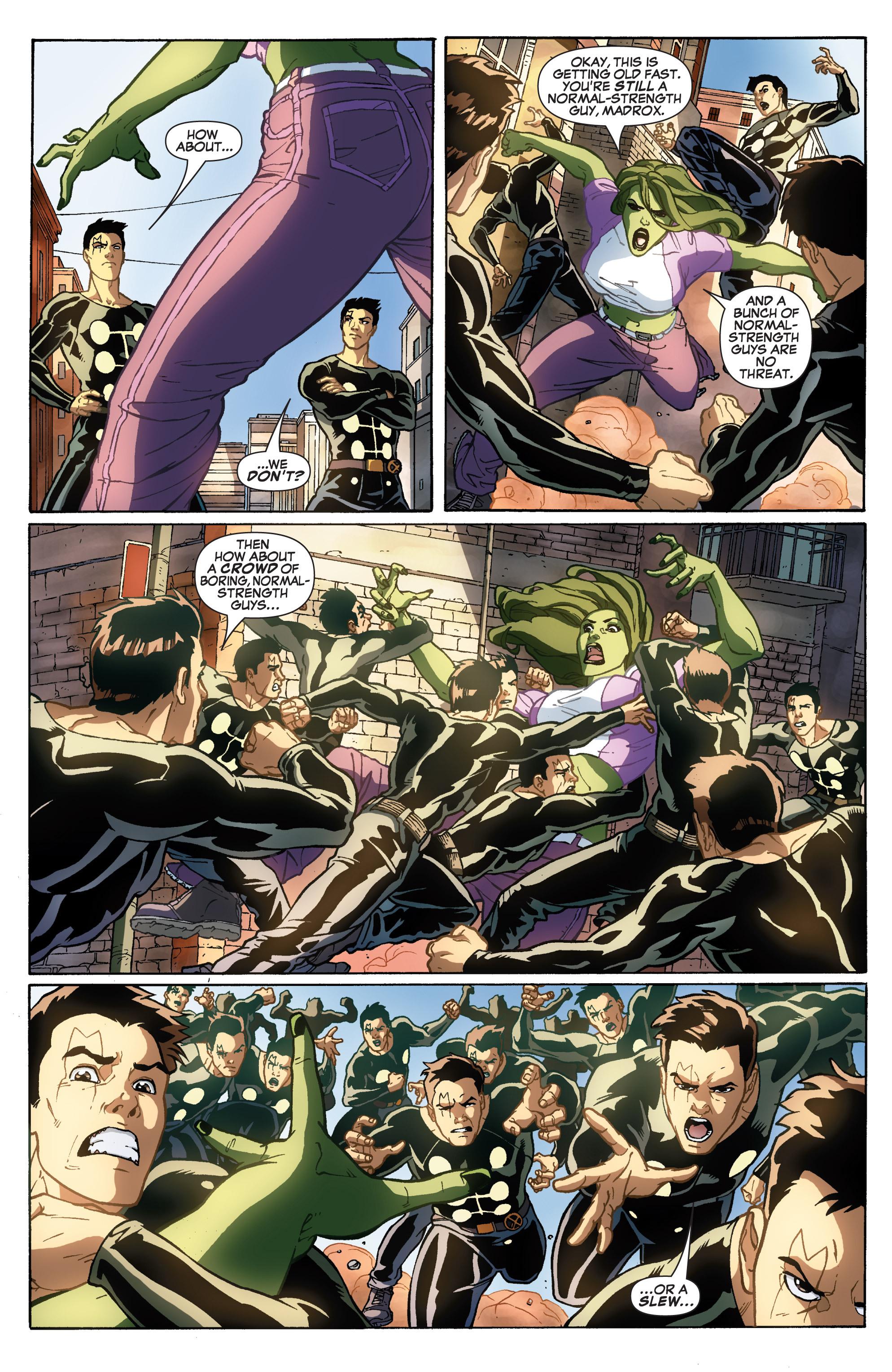 Read online She-Hulk (2005) comic -  Issue #31 - 19