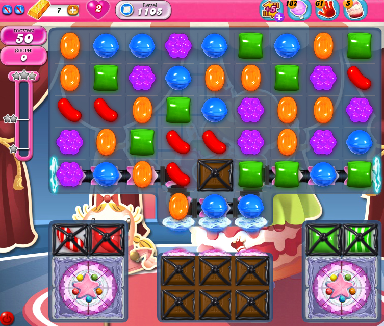 Candy Crush Saga 1105