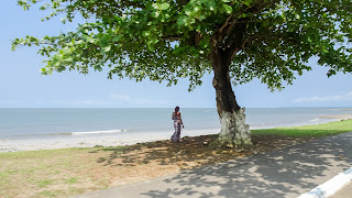 Perfect beaches at the mainland Libreville