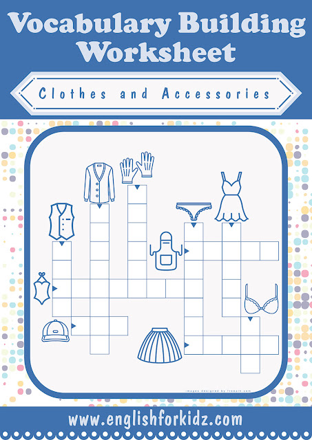 Clothes and accessories crossword