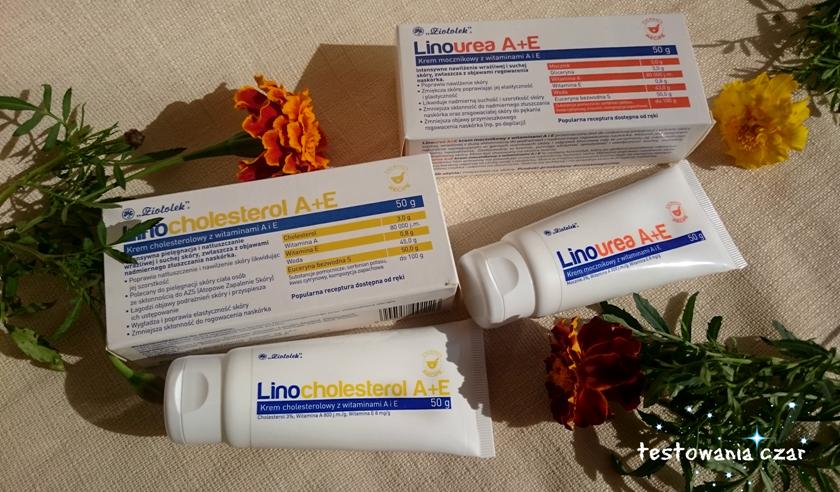 Linocholesterol A+E i Linourea A+E od Ziołolek - kremy do zadań specjalnych