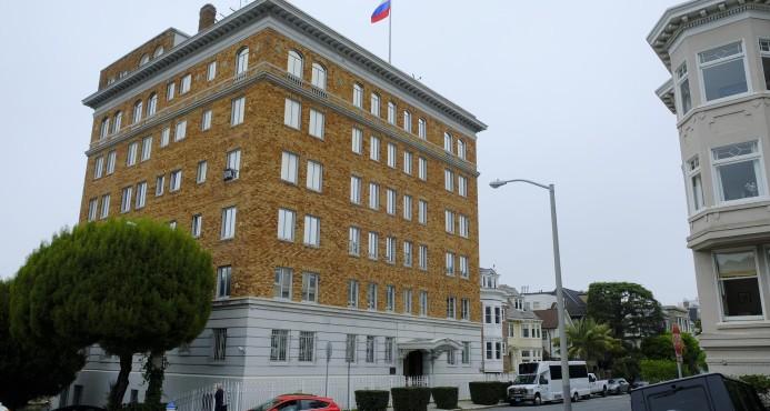 EE.UU. obliga a Rusia a cerrar su consulado en San Francisco