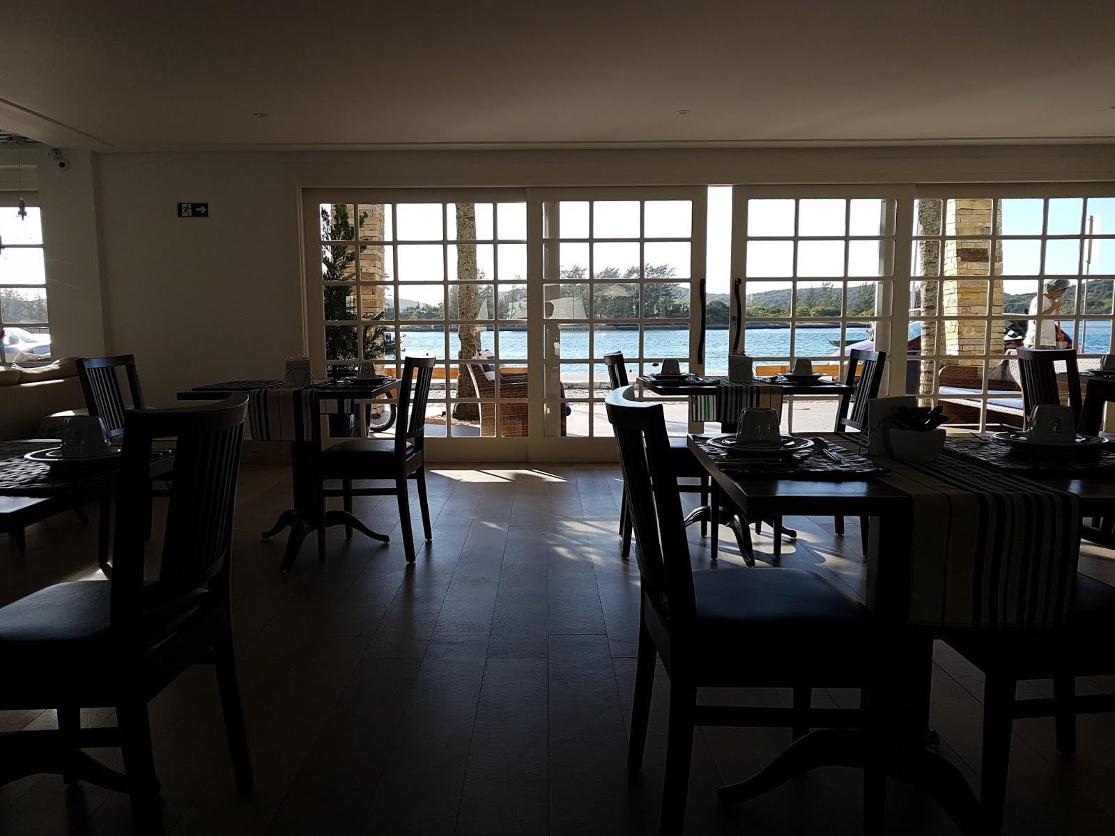 Café da manhã no Hotel Boutique Recanto da Passagem,Cabo Frio