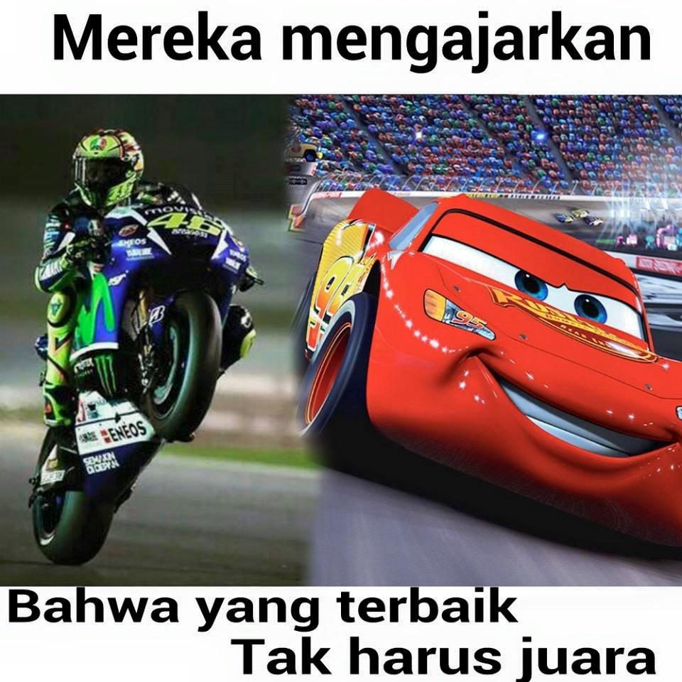Gambar Kata Lucu Moto GP Sindiran Buat Lorenzo Dan Marquez