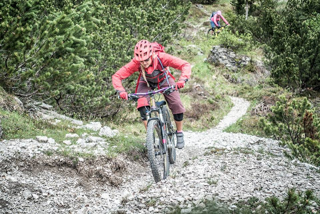 Abfahrt Monte Flop Mountainbike Moggio Udinese Udine