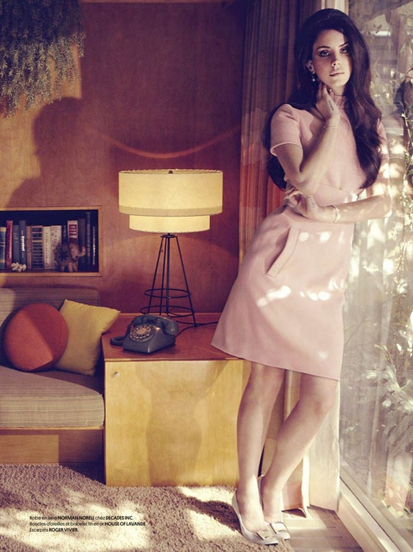 Fashion Editorial Lana Del Rey For Obsession Magazine Cover 7 Inspired Looks Cool Chic Style Fashion