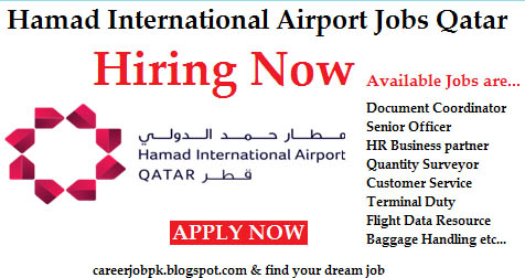 Jobs in Doha Airport Qatar