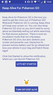 Bagaimana Cara Pokemon tetap Berjalan saat dikeluarkan