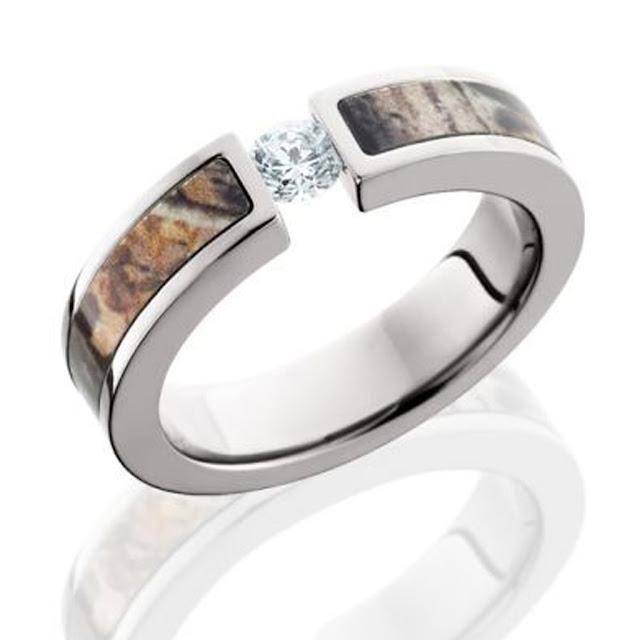 Camo Wedding Rings Cheap