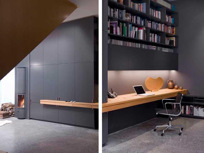 HOME OFFICE - PAUL RAFF STUDIO   VELVET MOON DIARIES