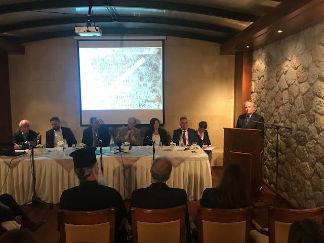 """Ο Γ. Ανδριανός στην πρώτη συνεδρία του """"Διεθνούς Δίκτυο Αρχαίων Ασκληπιείων – Οι Δρόμοι της Ίασης"""" στην Επίδαυρο"""
