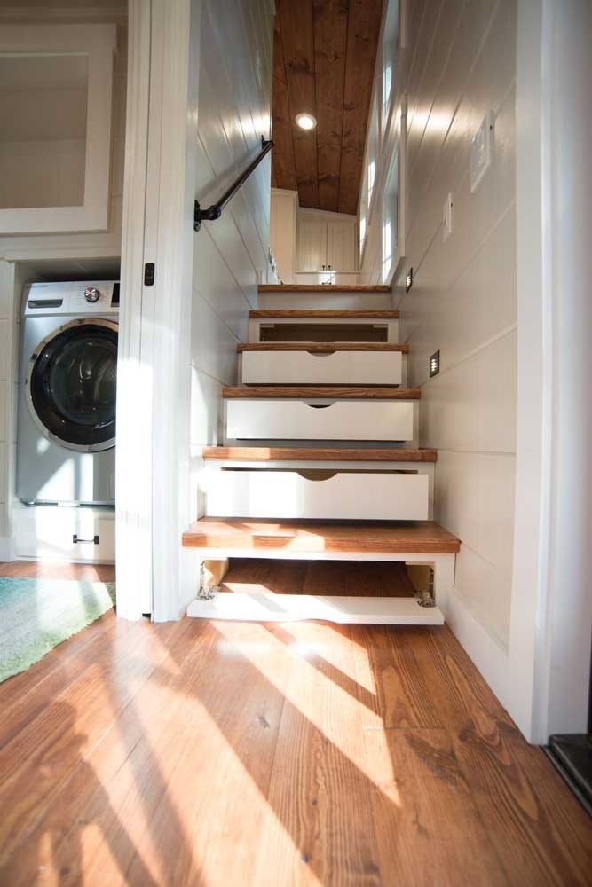 07-Stairs-to-Master-Bedroom-Timbercraft-Tiny-Homes-Architecture-with-Two-Double-Rooms-Tiny-House-www-designstack-co