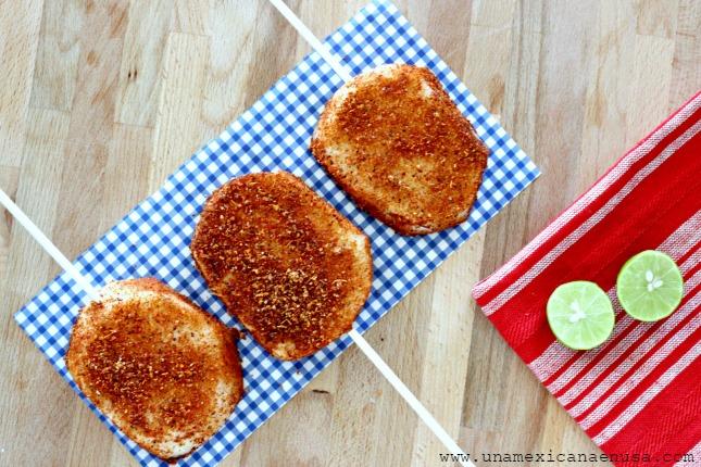Jicaleta: una manera divertida de comer Jícama