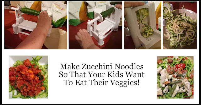 how to make zucchini noodles so that your kids want to eat their vegetables