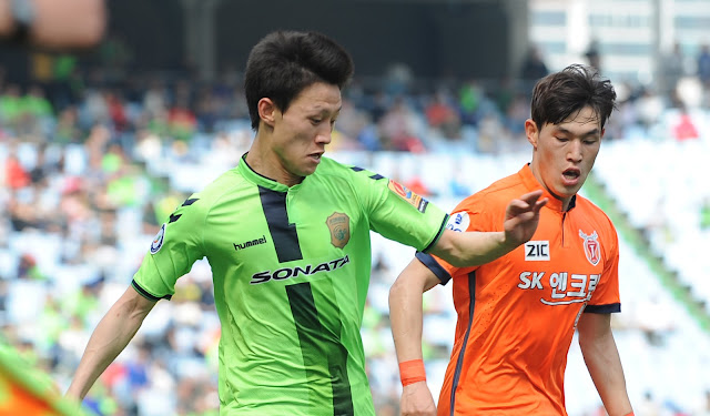 Jeonbuk Hyundai Motors Lee Jae-sung is set to return from international duty to face the visiting Jeju United this weekend (Photo credit: Hyundai-Motors.com)