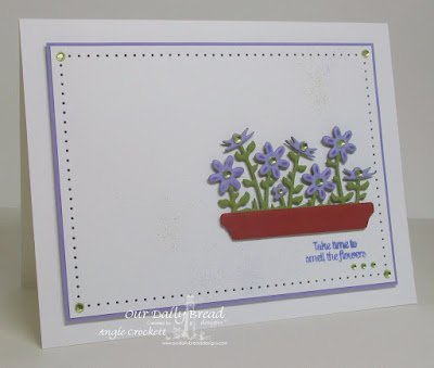 ODBD Home Sweet Home, ODBD Custom Flower Box Fillers Dies, Card Designer Angie Crockett