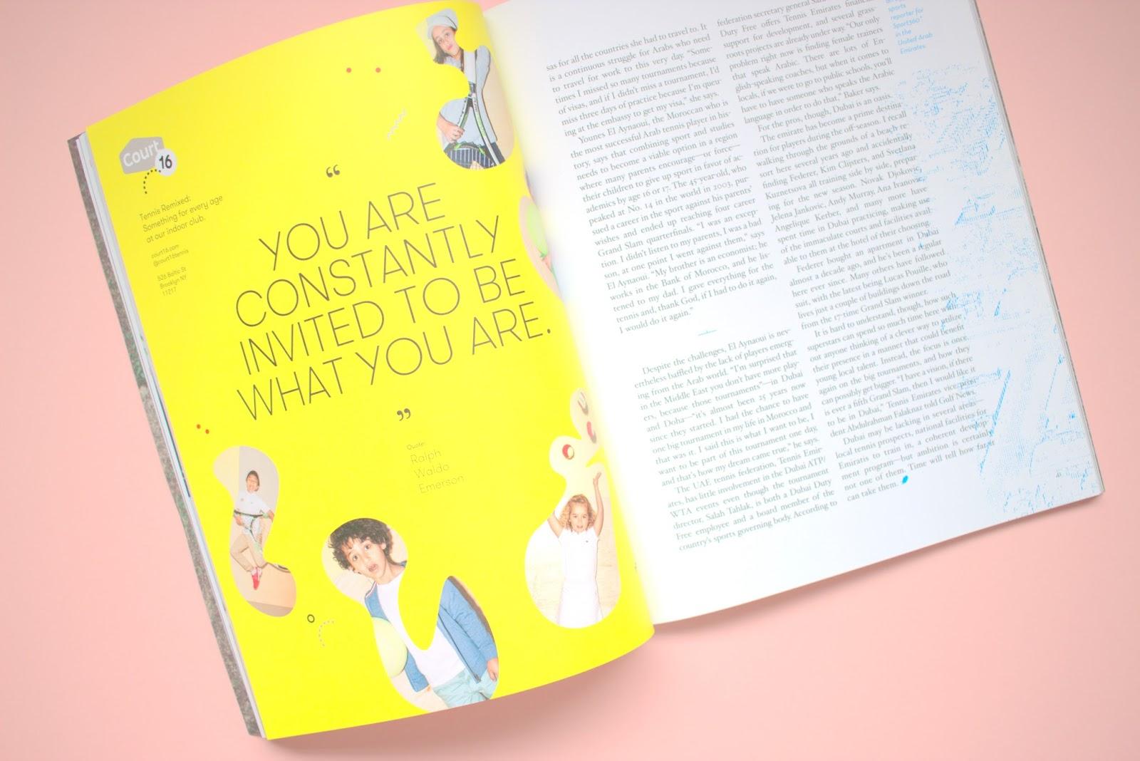 racquet magazine review, tennis magazine, atp, grandslam, indie magazine