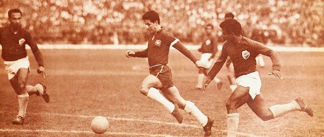 Chile y Colombia en Clasificatorias a Inglaterra 1966, 1 de agosto de 1965