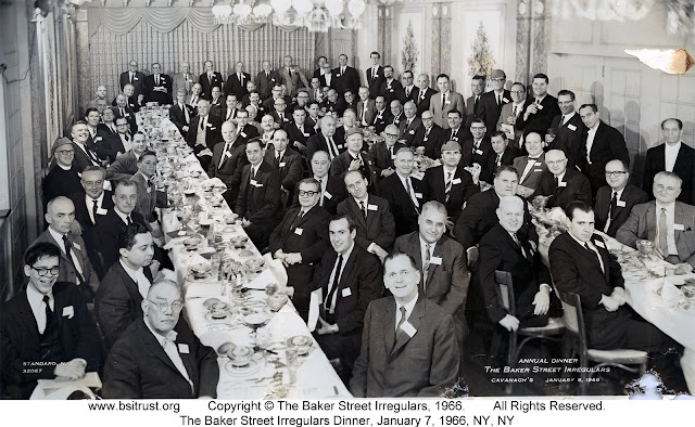 The 1966 BSI Dinner group photo