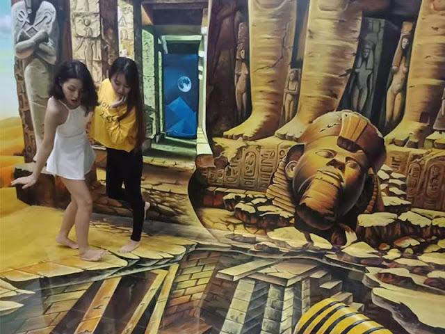 Bảo tàng tranh 3D Trickland Đà Lạt