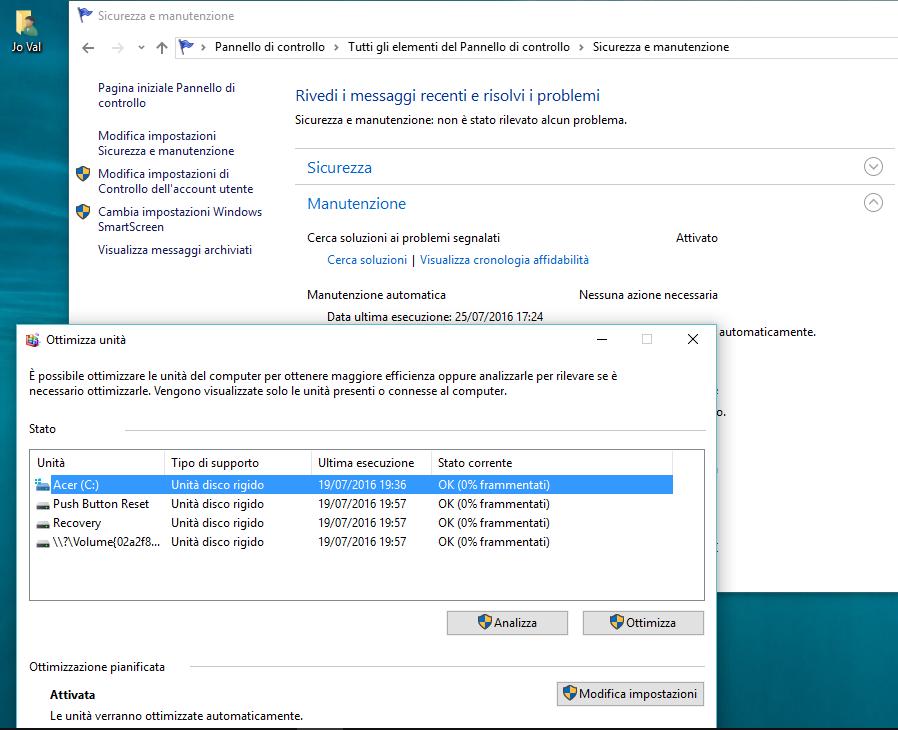 Istruzioni Windows 10 Anniversary Update