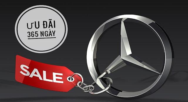 Mercedes Đà Nẵng thường xuyên áp dụng các Chương trình khuyến mãi trong tháng