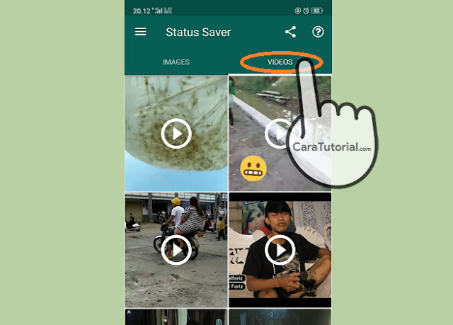 3 Cara Download Status WhatsApp Story Video Foto