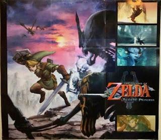 The Legend of Zelda - Twilight Princess - Poster oficial