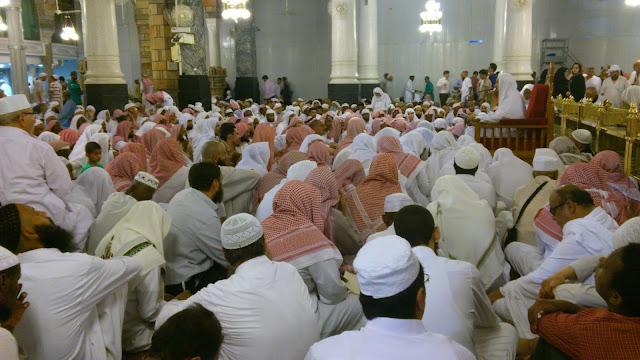 kajian islam di masjid nabawi