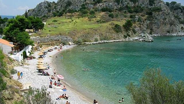 Νεκρός στην παραλία Καστράκι στην αρχαία Ασίνη στην Αργολίδα