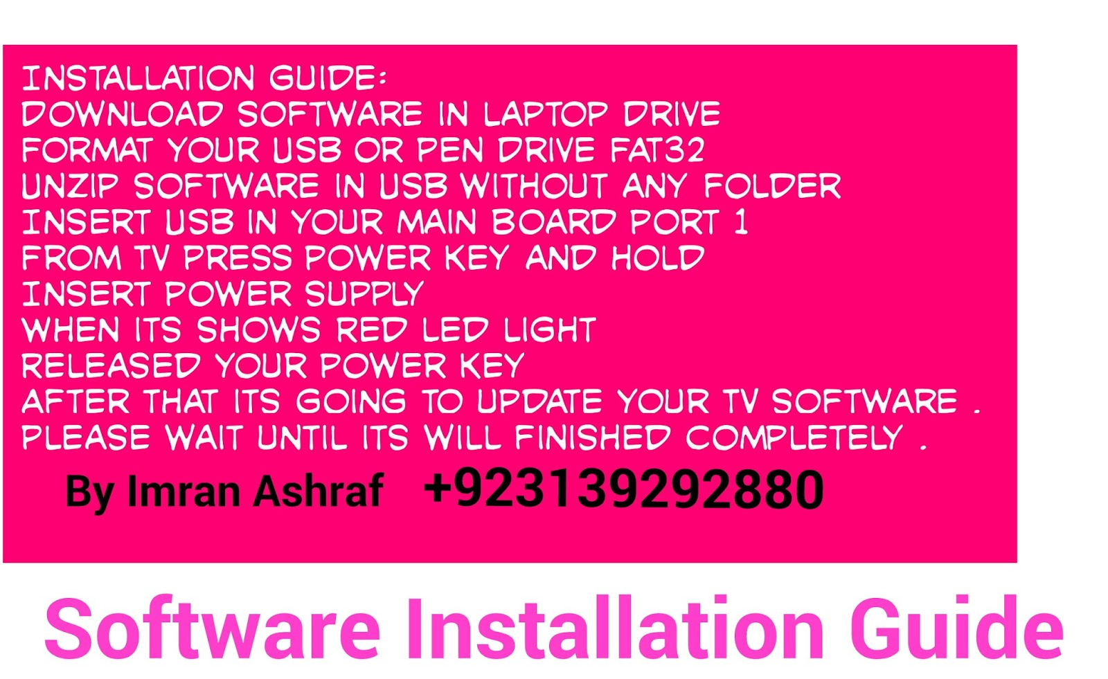 China Smart Software and Non Smart Installation Method