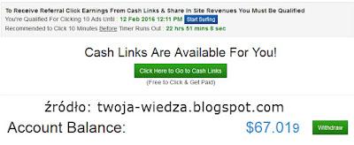 TrafficMonsoon jak zarabiać na klikaniu Zwiększ odwiedziny swojej strony za darmo