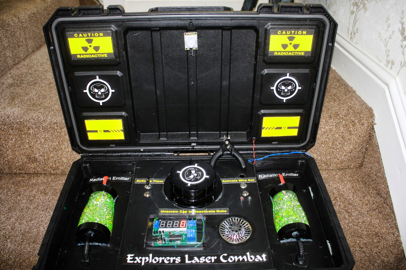 How To Build A Laser Tagger