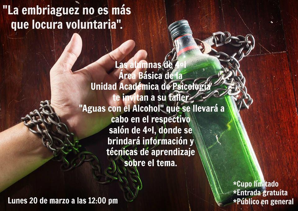 El compendio al tema del alcoholismo de la estampa