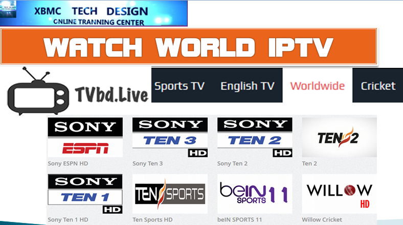 Download Install Free TVBD.LIVE TV For Watch World Live Tv Sports on Android,PC or Other Device Through Internet Connection with Using Browser.      Quick Install TVbd.LIVE TV Watch Free World Premium Cable Live Sports Channel on Any Devices
