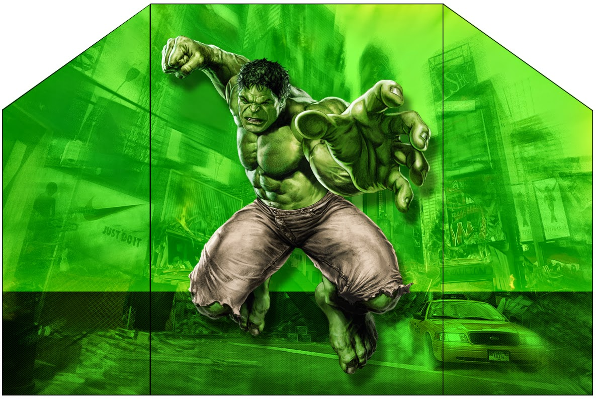 Hulk Free Printable Invitations Oh My Fiesta In English