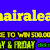Stand a chance to win 500.000 naira
