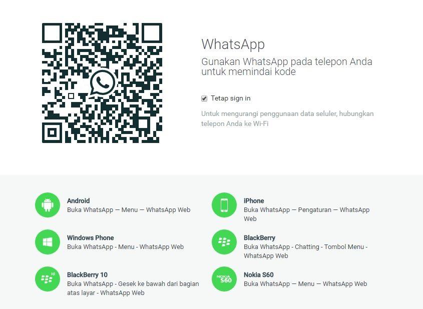 Cara Mudah Membuka WhatsApp Melalui Komputer atau Laptop