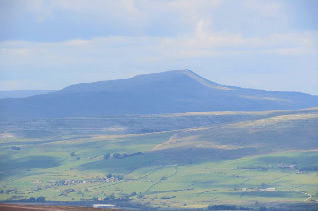 A zoomed in picture of Whernside.